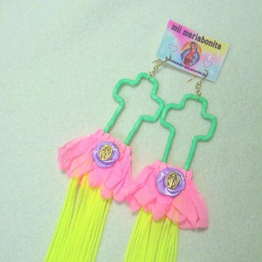 JellyfishCross Pierce☆Pink
