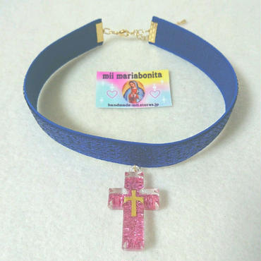 Holly Ribbon Choker☆BlueStar