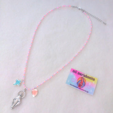 3TOP Necklace☆Strawberry cream