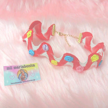 Rosy Choker☆California mix