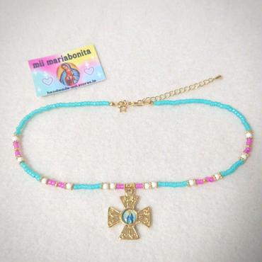 moroccofantasyChoker☆specialcross