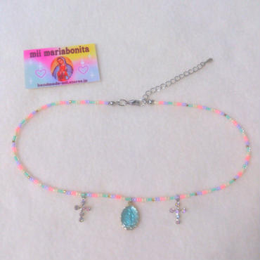 Fruits Choker☆cotton candy