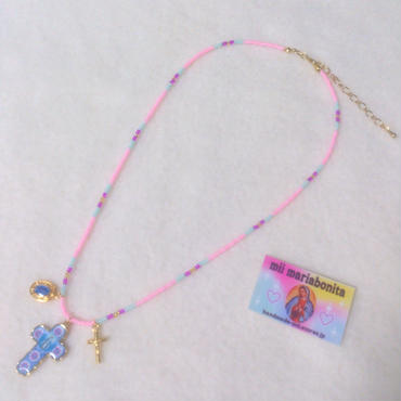 3TOP Necklace☆strawberry cream sand