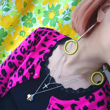Make-up Ring Pierce☆Yellow