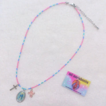 Necklace☆3Top Candy☆LovelyPink