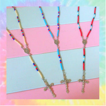 my Rosary choker☆Indian girl
