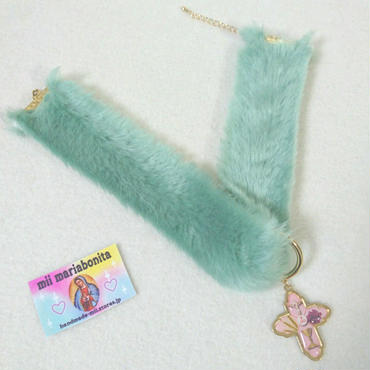 Fluffy13cat Choker☆GreenEyes