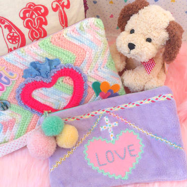 candy Cotton クラッチ&ポーチ
