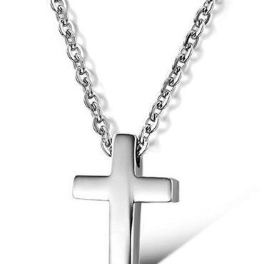 ネックレス 十字架 ステンレス スモール クロス 可愛い