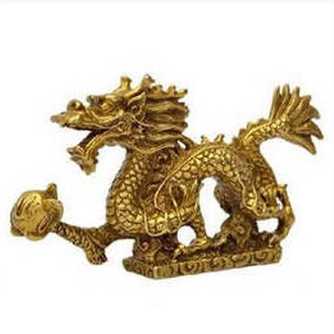 龍の置物 竜 風水 銅製 開運 五本爪 ドラゴン