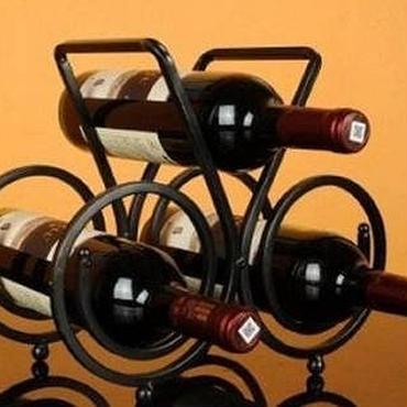 ワイン ボトル ラック ホルダー 3本掛け