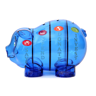 ハッピー・マネー®のピギーちゃん(単色12個入りパック)送付先:北海道、九州
