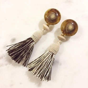 Buffalo____ivory brown mix Tassel