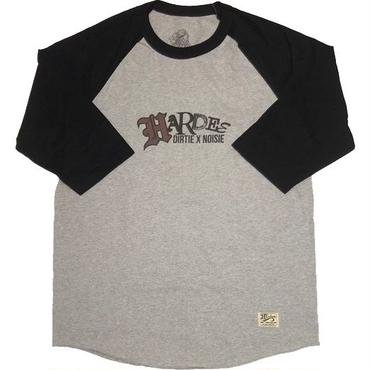 TWIST RAGLAN TEE GRAY