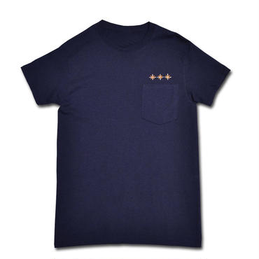 BURN POCKET T-SHIRT NAVY