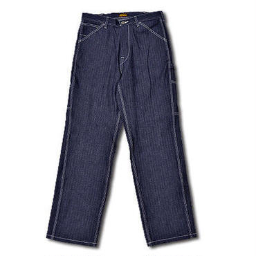 HIGHEST HERRINGBONE PAINTER PANTS INDIGO