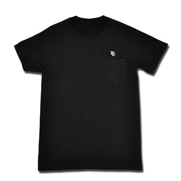 BURN POCKET T-SHIRT BLACK