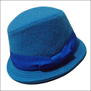 blue*wool-hat