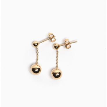 Titlee ティトゥリ bowery earring ボールチェーンピアス