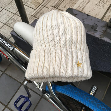 Knit Cap/Off White