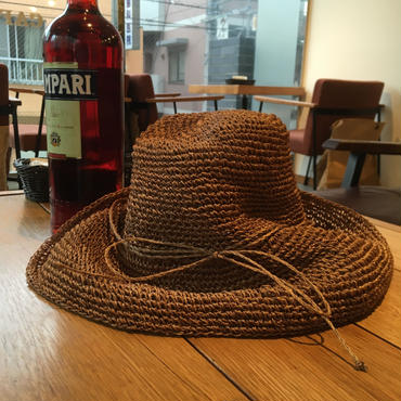 Abaca  Wide  Brim  Hat/Natural