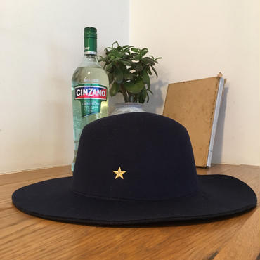 Brim Hat  Long/Navy