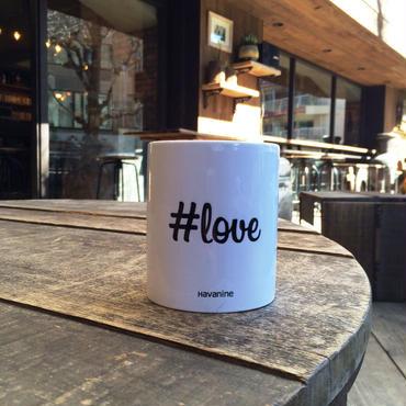 """Hashtag Mug """"love"""""""
