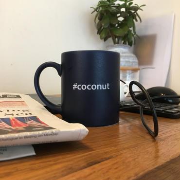 "Hashtag  Mug/Navy  ""coconut"""