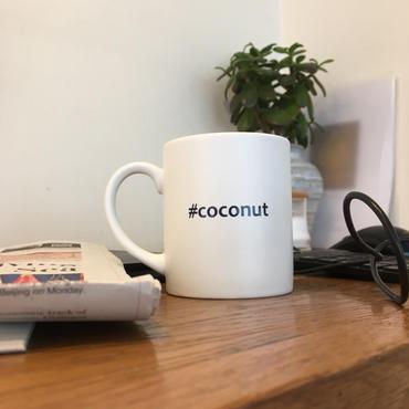 "Hashtag  Mug/White ""coconut"""