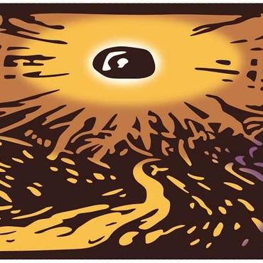 太陽と道(カラー)