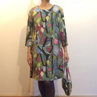 HSHOP401 リンドベリスペシャルファブリックサックドレス
