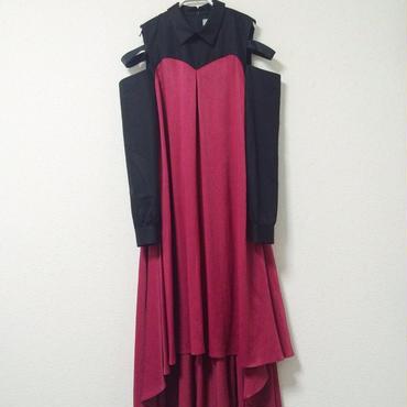 【 7/1~8/15 WEB注文受付中 】シャツとドレスの二重装