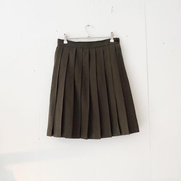 【6/23~8/16 WEB受注受付中】経年真価のプリーツスカート