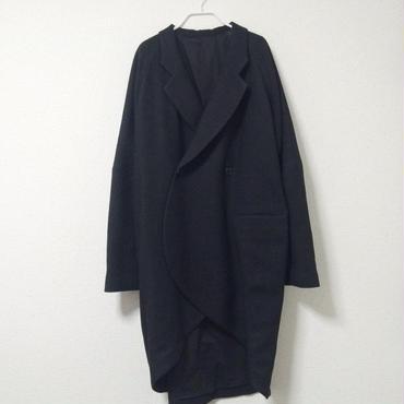 【 7/1~8/15 WEB注文受付中 】経年真価のジャケットコート( black )