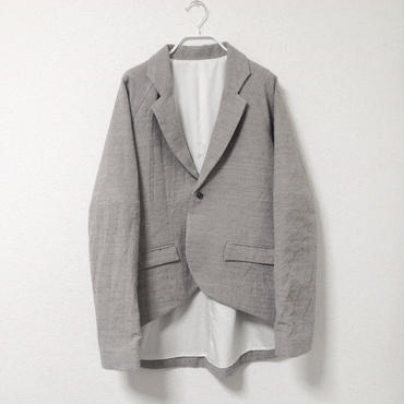【6/23~8/16 WEB受注受付中】経年真価のジャケット