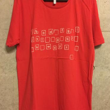 【復刻】タイポグラフィTシャツ