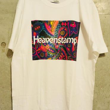 【数量限定】サイケ柄ロゴTシャツ