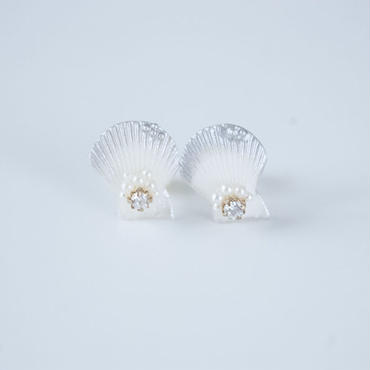 Shell in the palace - SILVER ピアス
