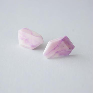 SALE | Marble Stone Pierced Earrings