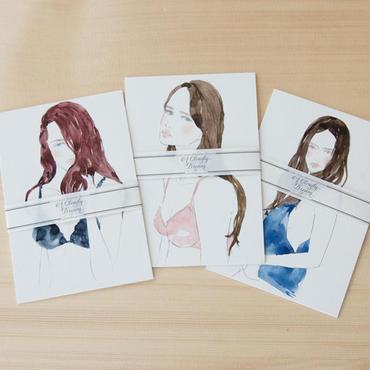 Yuriko Oyama Postcard 9枚セット