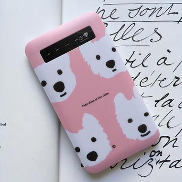 インジケーター付き/モバイルバッテリー・ベーシック  Pink&PepperMint