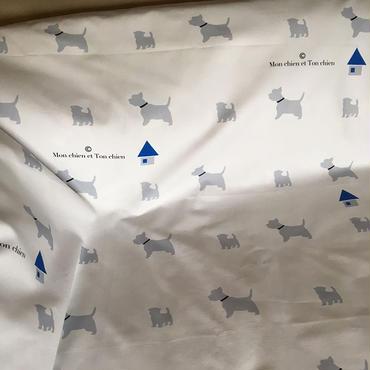 ウェスティ・シルエット生地 1mシングル巾