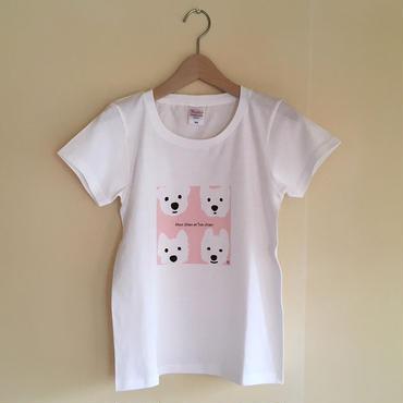 LadiesTシャツ   ウェスティベーシック Pink