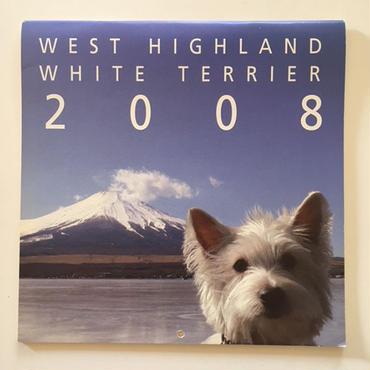 ウェスティ・カレンダー2008
