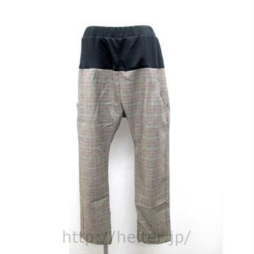 ポケット配色イージーパンツ(チェック)PT-9663Bc/#950