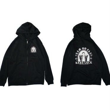 HARD LUCK MARIA ZIP HOOD