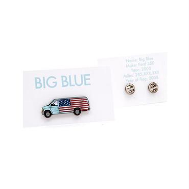 JOE BROOK BIG BLUE PINS
