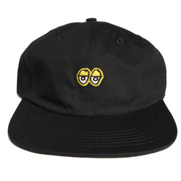 KROOKED EYES EMBROIDERED CLIPBACK CAP