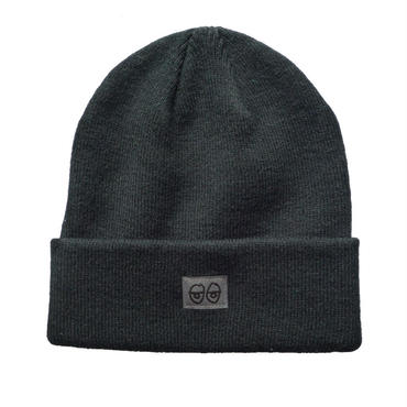 KROOKED EYES LABEL CUFF BEANIE