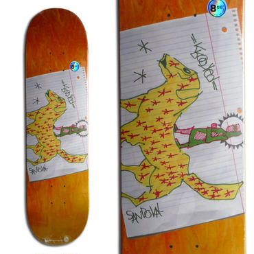 KROOKED RONNIE SANDOVAL NOMAD DECK (8.06 x 31.6inch)